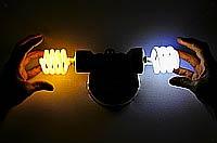 Цвет света энергосберегающей лампы